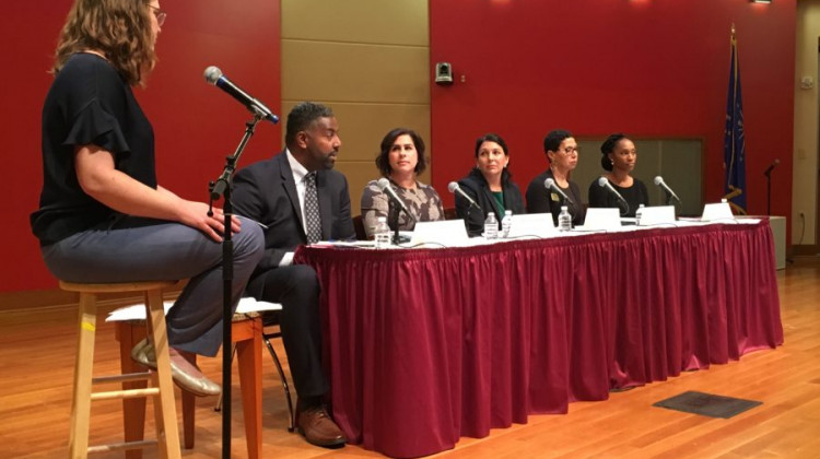IPS Board Candidates Clash Over Innovation Schools, Reforms During Forum