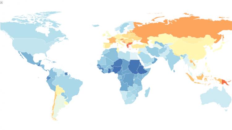 Where The Smokers Are Now Bulgaria Greece And Macedonia