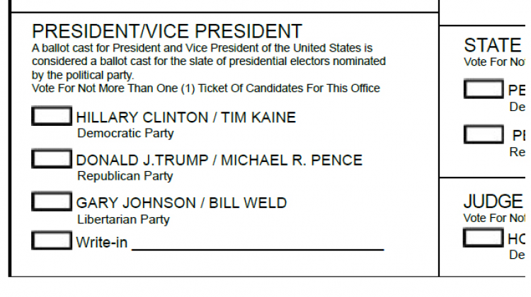 Could A Write-In Vote For Pence Still Count For The Trump ...