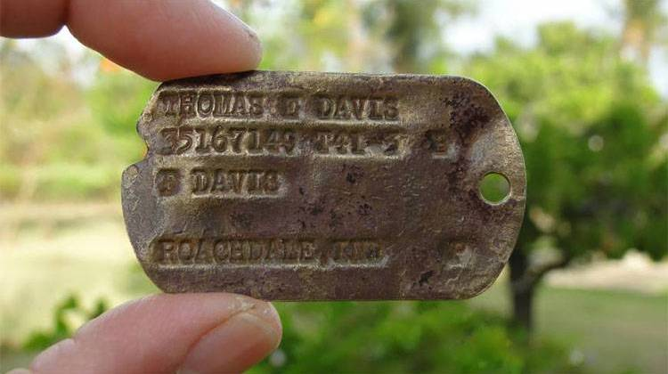 Dog Tag Returned To Family Of Hoosier Soldier Killed In Japan During Wwii