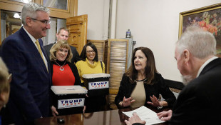 Karen Pence Touts Trump's Reelection Bid With Indiana Filing