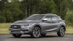 Infiniti QX30 Channels Its Inner Mercedes
