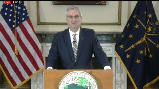 WATCH: Gov. Eric Holcomb Announces Stay At Home Order