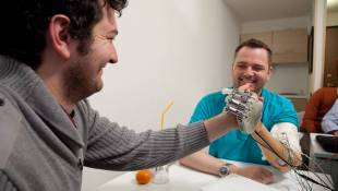 An Artificial Arm Gives One Man The Chance To Feel Again
