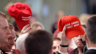 Clerk: Trump Slogan Banned From Clothing In Indiana Primary