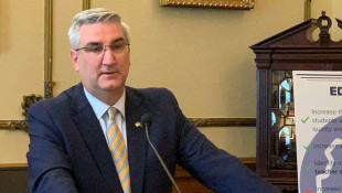 Holcomb Signs Landmark Gambling Bill