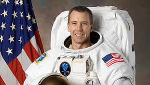 Astronaut On Space Station Receiving Honorary Purdue Degree