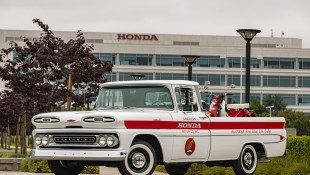 Celebrating 60 Years In America, Honda Restores Its Chevy Pickup