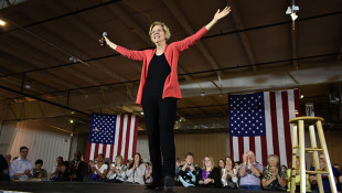 Elizabeth Warren Campaigns On Green Jobs Plan In Elkhart