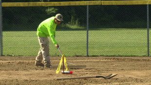Work Underway On Austin's Baseball Field Makeover
