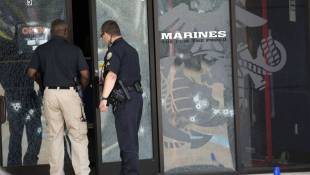 Official: 4 Marines Killed, Along With Gunman
