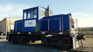 Old Locomotive Donated To Wabash Valley Railroad Museum