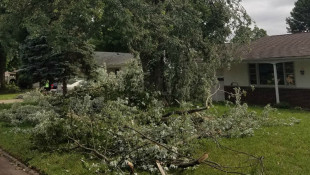 Weather Service: EF-1 Tornado Caused Minor Damage In Warsaw