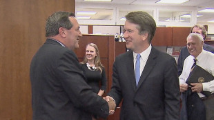 Donnelly Meets With Supreme Court Nominee Kavanaugh