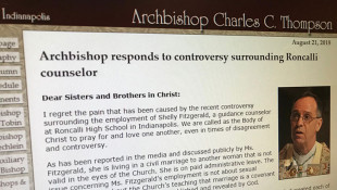 Indianapolis Archbishop Issues Letter On Suspended Counselor