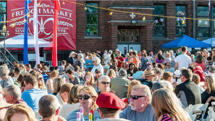 St. Joan of Arc Church's French Market has grown to be one of the most anticipated foodie festivals in Indianapolis. - Courtesy St. Joan of Arc Church French Market via Facebook