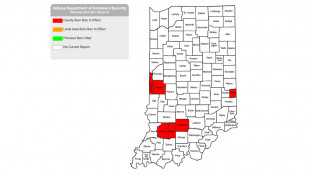 6 Indiana Counties Issue Burn Bans Amid Dry Conditions