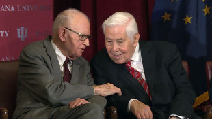 Indiana University Names Global Affairs School After Lugar, Hamilton