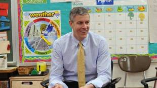 Education Secretary Loses Some Of His Luster