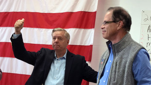 Lindsey Graham Visits Mishawaka To Stump For Mike Braun