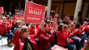 Big Indiana Teachers Rally Prompting Many School Closings
