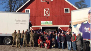 250 Indiana-Grown Christmas Trees Headed For Military Bases