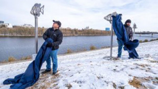 New Artwork Along White River Trail Honors Indy's River History