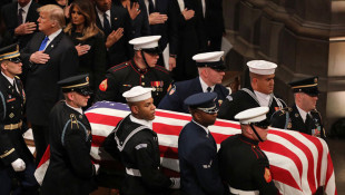 Former President George H.W. Bush Honored As 'Great And Noble Man' In State Funeral