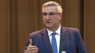 Indiana Gov. Holcomb Keeps Padding Huge Campaign Cash Lead