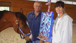 The Horse Who Picked Up A Paintbrush