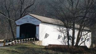 Police Investigate Damage To Historic Indiana Covered Bridge
