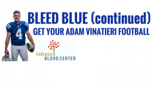 Indiana Blood Center Hosting Bleed Blue Part Two