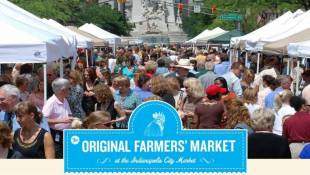 Original Farmers' Market returns to downtown Indy This Week