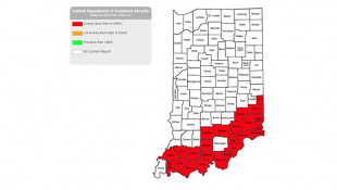 Numerous Indiana Counties Ban Outdoor Fires Amid Drought