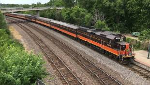 Hoosier State Rail Line Ticket Sales Up 14%