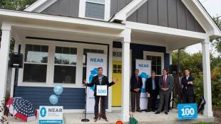 Near East Side Nonprofit Celebrates 100th Home Renovation