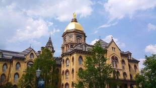 Court Rules Notre Dame Can Keep Old Police Records Private