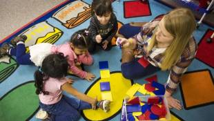 Inside A Dual-Language Preschool For Migrant Workers' Children