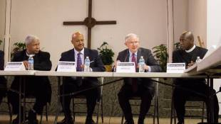 U.S. Attorney General Jeff Sessions Meets With Indy Anti-Violence Group