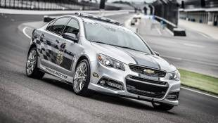 Chevy SS Speeds from Australia to Indy
