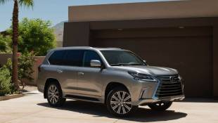 Lexus LX570 Is One Posh Mountain Goat