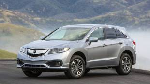 Acura RDX Melts Detroit Winter