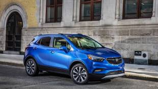 Buick Crossover Bows For Its Encore