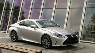 Lexus RC350 Is Handsome, Charming