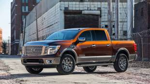 "Nissan Titan Platinum Reserved For ""Right Duty"""