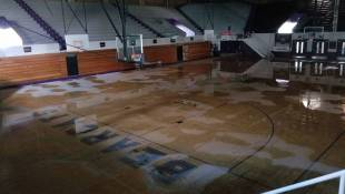 Storm-Damaged Historic Indiana Fieldhouse Set For Repairs