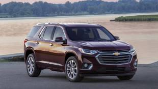 Chevy Traverse Trades Sleek For Buff