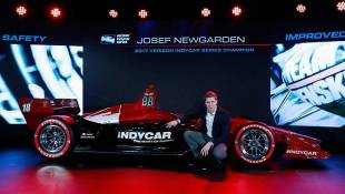 IndyCar Unveils 2018 Race Car At Auto Show In Detroit
