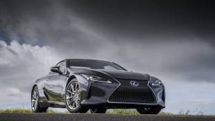 Minority Report:  Lexus LC500h