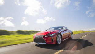 2020 Lexus LC500 Asks, 'Am I A Supercar?'